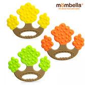 英國 mombella 媽貝樂 蘋果樹固齒器 (綠/黃/橘) 0516 好娃娃