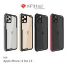 【愛瘋潮】X-Fitted Apple iPhone 11 Pro (5.8吋) 鋁合金保護殼 邊框+透明背板 手機殼