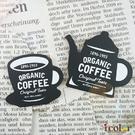 i color 咖啡杯壺木製裝飾板...