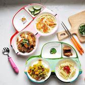 寶寶餐盤分格盤小汽車兒童餐具創意可愛卡通家用陶瓷分隔盤早餐盤  艾尚旗艦店
