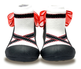 韓國 Attipas 快樂腳襪型學步鞋-芭蕾天使