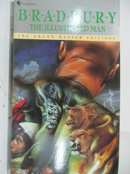 【書寶二手書T1/原文小說_ALP】The illustrated man_Ray Bradbury