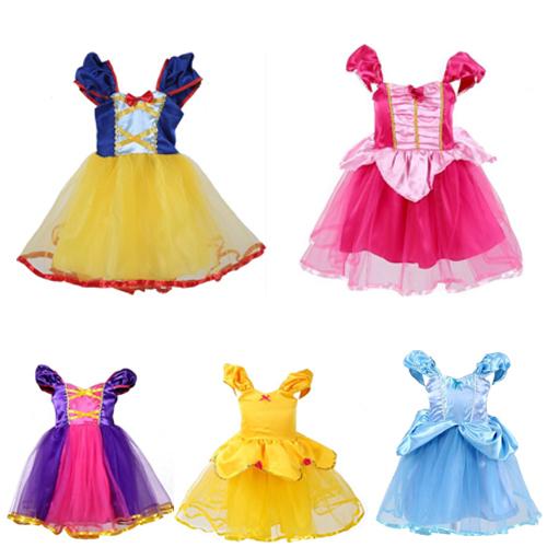 萬聖節女童公主造型連衣裙洋裝