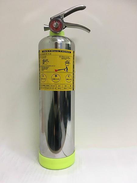 【現貨】5 型 HFC-227ea 潔淨氣體滅火器 白鐵 不鏽鋼 滅火器