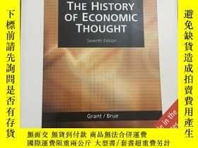 二手書博民逛書店The罕見history of economic thought
