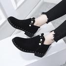 顯瘦馬丁靴女英倫風網紅靴子女夏天2020新款百搭薄款短靴春秋單靴 小山好物