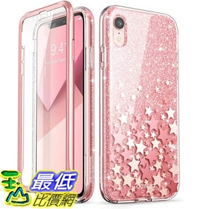 手機保護殼 iPhone XR Case [Scratch Resistant] i-Blason [Cosmo] Full-Body Bling Glitter Sparkle Clear