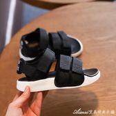男童涼鞋夏季新款韓版防滑魔術貼中大童兒童涼鞋女寶寶沙灘鞋艾美時尚衣櫥