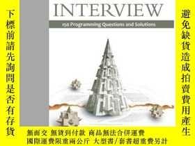 二手書博民逛書店Cracking罕見The Coding Interview: 150 Programming Questions