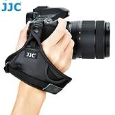 又敗家JJC超纖皮單眼相機手腕帶HS-N大附安全扣目字扣適翻轉螢幕不卡電池蓋DSLR攝影單眼手腕帶