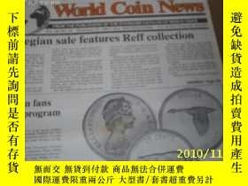 二手書博民逛書店World罕見Coin News(Vol.18,No.24)(N