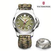 VICTORINOX 維氏  I.N.O.X. 瑞士錶 傘繩套組(VISA-241727.1)迷彩綠