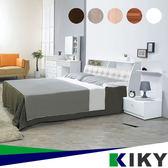 床頭箱/雙人5尺-【小次郎】皮質床頭加高(多色可選)~台灣自有品牌-KIKY~Kojiro