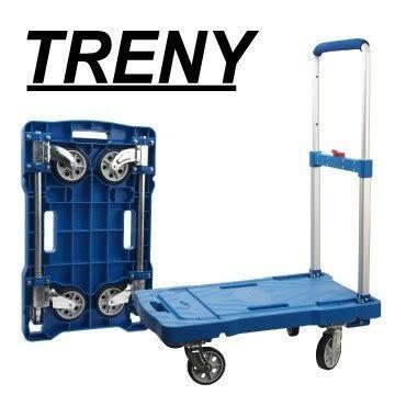 中華批發網:【TRENY】四輪收納塑鋼手推車-100kg HD-5080