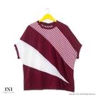 【INI】透氣舒適、寬袖版涼感設計上衣....
