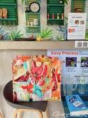環保袋折疊包大容量環保購物袋油畫手提袋側背女防水便攜沙灘包榮耀 新品