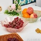 水果盤 透明塑膠水果盤 歐式客廳零食盤現代簡約創意糖果盤家用乾果盤 新年優惠