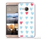✿ 3C膜露露 ✿【愛心水彩*硬殼】HTC ONE ME手機殼 手機套 保護套 保護殼