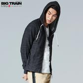 Big Train 立體竹節連帽外套-男B30222