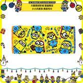 (現貨&樂園實拍) 日本 大阪環球影城限定 小小兵家族 英字香蕉 長版毛巾