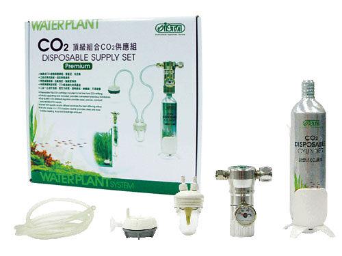 [ 台中水族 ]台灣ISTA 專業CO2鋁瓶全套組-1L 特價