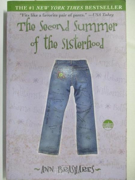 【書寶二手書T8/原文小說_A1A】The Second Summer of the Sisterhood