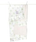 頂級 冬季首選 Little Giraffe 美國 嬰兒被|頂級攜帶毯 - 豪華彩色奶油點點嬰兒毯(灰綠色款)  LXSNDBKTCE