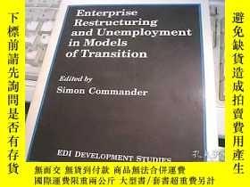 二手書博民逛書店Enterprise罕見Restructuring and Un