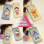 【R】可愛卡通飛刀米奇米妮iphone5s 5se 6s 6splus 手機殼超薄 蘋果 保護套軟殼【RunWay】
