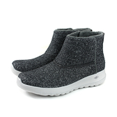 SKECHERS WASH-A-WOOLS 雪靴 短靴 女鞋 羊毛 深灰色 78900CCL no065