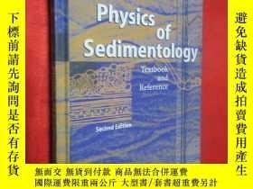 二手書博民逛書店Physics罕見of Sedimentology: Textb