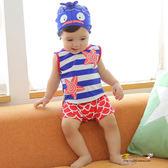 店長推薦 兒童泳衣男童分體游泳衣寶寶卡通可愛泳褲
