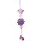 紫晶繡球吊飾