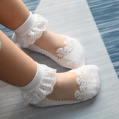 兒童襪女寶寶襪子季夏薄款水晶襪兒童花邊襪蕾絲公主襪嬰兒女童絲襪超薄促銷好物
