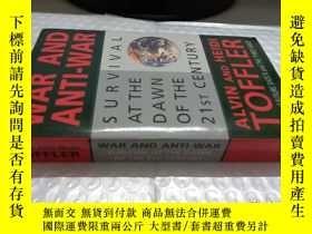 二手書博民逛書店War罕見and Anti-warY4736 Alvin Tof