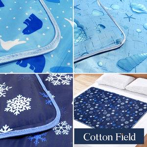 棉花田 極致酷涼冷凝床墊-3款可選(90x140cm)冰晶花