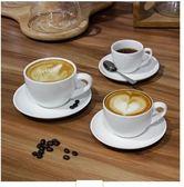 歐式 簡約創意陶瓷杯碟套裝LVV2156【KIKIKOKO】