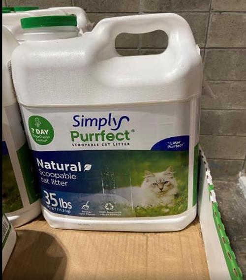 [COSCO代購] C1244567 SIMPLYPURRFECT CAT LITTER 除臭貓砂 15.8公斤