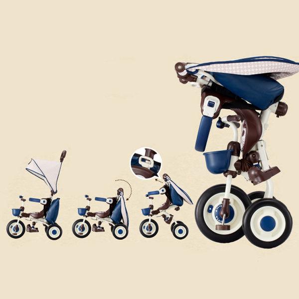 日本 ides 米奇米妮限定款 敞篷摺疊車