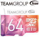 Team 十銓 64GB 64G 90MB/s microSDXC TF U3 C10 記憶卡