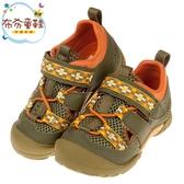 《布布童鞋》Moonstar日本綠色玩耍速乾兒童運動機能鞋(15~19公分) [ I9A313C ]