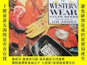 二手書博民逛書店100罕見Years of Western Wear 西方服裝1