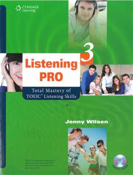 Listening Pro 3: Total Mastery of TOEIC Listening Skills(with MP3)