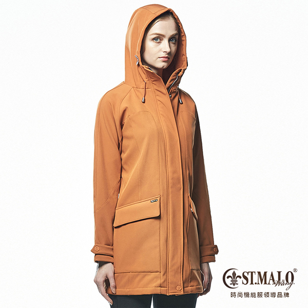 【ST.MALO】德國3防精算比例大衣-1673WJ-焦糖棕