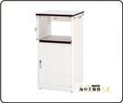 {{ 海中天休閒傢俱廣場 }} B-34 環保塑鋼 電器櫃系列 908-01 一空一門電器櫃