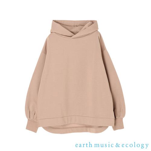 「Hot item」柔軟太空棉連帽上衣 - earth music&ecology