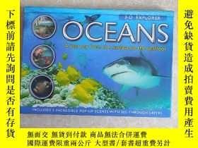 二手書博民逛書店Oceans:罕見A Journey from the Surface to the Seafloor 立體書