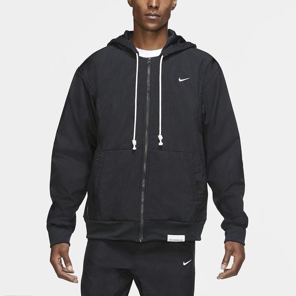 【12周年慶跨店折後$2680】Nike Standard Issue Winterized Basketball Hoodie 黑白 男款 連帽外套 CK6806-010