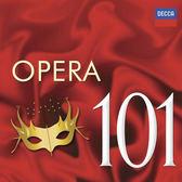 歌劇名曲101 6片CD裝 Opera 101 帕華洛帝豪恩 無人能睡杜蘭朵愛情是隻叛逆的小鳥卡門(音樂影片購)