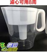 [COSCO代購] 促銷到10月20  (含1組濾心) Brita濾水壺 (3500CC) #987584 圓形濾心